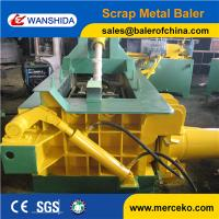 China Small power and high efficiency Scrap Metal Baler with hand value on sale