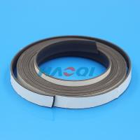China soft type permanent rubber flexible magnet strip roll on sale