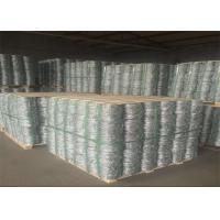 Buy cheap Fence Hot Dipped Galvanized Security Barbed Wire Roll 25kg / Coil from wholesalers
