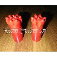 Buy cheap T51 Top hammer rock drilling tools Threaded Ballistic Button Bits 89mm from wholesalers