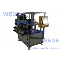 Buy cheap 10 stations Shade poles motor bobbin coil  winding machine with tape wrapping from wholesalers
