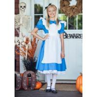 Buy cheap Holiday / Carnival Teenage Girl Halloween Costume Child Deluxe Alice Dress from wholesalers