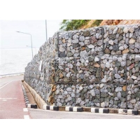 Buy cheap 240g/M2 Zinc Coated 3.5mm Building Gabion Baskets from wholesalers