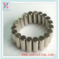 Buy cheap cylinder rare earth permanent neodymium ndfeb magnet with good coating from wholesalers