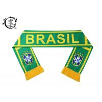 Buy cheap FIFA Soccer Club Custom Printed Scarves Polyester Fleece World Cup Event Celeration from wholesalers