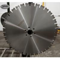 Buy cheap 600mm High Performance Laser Diamond Blades for Reinforced Concrete Cutting product