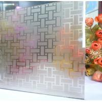 Buy cheap Custom Made Acid Etching Clear Float Glass Mirror Sinoy For Windows / Doors from wholesalers