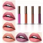 Buy cheap Beauty Lip Makeup Products Matte Lipgloss Easy Wear Velvet Metal Lipstick Moisturizing Cosmetics from wholesalers