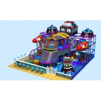 Buy cheap space theme  indoor play land rocket indoor play area toddler indoor playhouse with slide from wholesalers