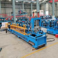 Buy cheap Machinery Metal Hydraulic C Purlin Roll Forming Machine Steel Roof Truss Making from wholesalers