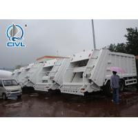 Buy cheap Grabage Collection Truck Sinotruk SWZ Garbage Compactor Truck , Rear Loader Garbage Truck from wholesalers