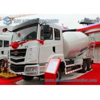 Buy cheap 11 M3 Transit Mixer Truck CAMC 345Hp Detachable 90CM With Anti Leakage Groove from wholesalers