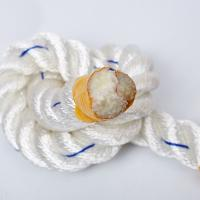 Buy cheap High Tenacity 3 Strand Twisted Rope Dacron Polyester Packing Eco Friendly from wholesalers
