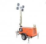 Buy cheap Outdoor Mobile Lighting Tower Kubota Diesel Engine Manual Mast 9m from wholesalers
