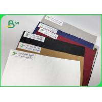 Buy cheap 0.55mm Kraft Paper Red Color Washable Smooth Surface Width 150cm For Bags from wholesalers