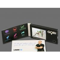 Buy cheap Super Definition LCD Video Greeting Cards Printable Design With MP3 / MP4 Player from wholesalers