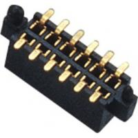 Buy cheap 1.27mm Dual Row 180° SMT Pin Header Connector Female With Different Post And Metal product