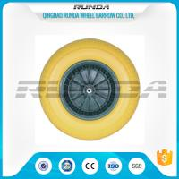 Buy cheap Various Color PU Foam Wheel Roller Bearing Super Elasticity For Air Compressor from wholesalers