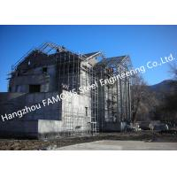 Wholesale Light Weight Steel Structure Villa House Pre-Engineered Building Construction With Cladding Systems from china suppliers