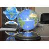 4 inch Blue Custom Promotional Magnets , Levitation Magnetic Globe Manufactures
