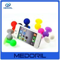 Wholesale Promotion high quality 100% silicone material mobile phone sucker stand holder from china suppliers