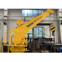 Buy cheap 4T2.6M Fixed Beam Marine Deck Crane CCS With Emergency Stop Button from wholesalers