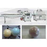 Automatic bath bomb shrink wrapping machine bath ball heat shrink packing machine with 60 pcs/min Manufactures