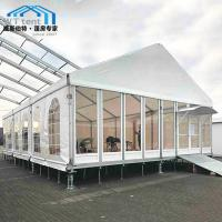 Buy cheap Aluminium Clear Span Frame Marquee UV Protected 500 Person Capacity product