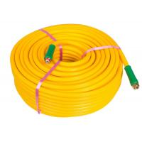Buy cheap Yellow Chemical Sprayer Hose , Agriculture PVC Pipe For Chemical Water Delivery from wholesalers