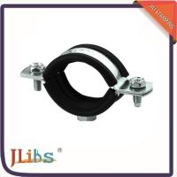 Buy cheap Standard Suspension Galvanised Tube Clamps , Horizontal / Vertical Pipe Clamp Bracket from wholesalers