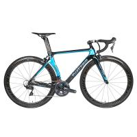 Buy cheap R8000 Groupset Carbon Fiber Road Bike 22 Speed Holographic Frame Carbon Wheel from wholesalers