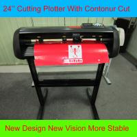 Buy cheap HW630 Graphic Cutting Plotter With Contour Cut 24 Vinyl Sign Cutter Adhesive Label Cutter from wholesalers