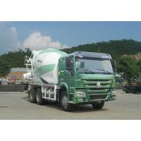 Buy cheap Green Concrete Mixer Truck 10 Cbm With Safety Belts For Driver from wholesalers