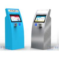 Buy cheap Self Service Capacitive Touch Screen Check-in Kiosk At Airport For Travellers from wholesalers