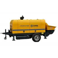 Buy cheap 50m3/H Hydraulic Concrete Pump / Stationary Concrete Pump Diesel Engine Type from wholesalers