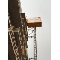 Buy cheap High Strength Construction Site Hoist Installation Easy With Non Eccentric Rollers from wholesalers