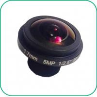 Buy cheap F2.1 1.7Mm 185° Wide Angle Starlight Camera Lens 1/2.5'' Sensor High HD 5MP from wholesalers