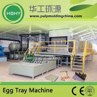 Buy cheap pulp molding machine for egg tray fruit tray egg carton cup tray cup holder molding from wholesalers
