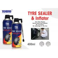 Wholesale Non - Toxic Tire Sealer And Inflator For Fixing Flat Tire / Punctured Tire / Rubber Tire from china suppliers