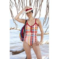 China Tiered Layer Tie a Knot Front Top With Low waist Bikini swimsuit high cut on sale