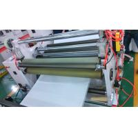 High Speed Aluminum Foil PE / PVC Stretch Film Slitter Rewinder Machine