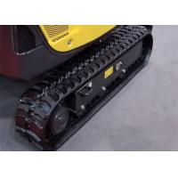 Quality Libra 114s 115t 116s Excavator Rubber Tracks 45 Links For Construction Machine for sale