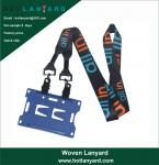 Buy cheap Promotional Sublimation Sublimated Custom ID Card Holders Lanyards with Logo from wholesalers
