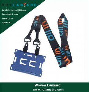 Wholesale Promotional Sublimation Sublimated Custom ID Card Holders Lanyards with Logo Hotlanyard from china suppliers