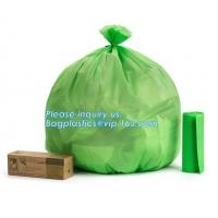 Buy cheap Disposable Plastic Thin bags Customized Colors Baby Nappy Sack, pla packaging biodegradable plastic nappy sacks bags pac from wholesalers