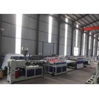 China Wood Composite Panel Board Wpc Profile Production Line With Double Screw on sale
