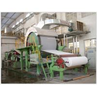 Buy cheap Width 3200mm Corrugated Paper Making Machine Steel Material Speed Control Alternating Current from wholesalers