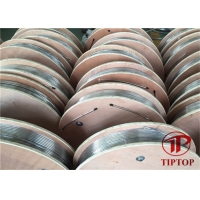 Buy cheap 1 / 4 * 0.049 Duplex 2205 ASTM A789 Ss Control Line Tubing from wholesalers