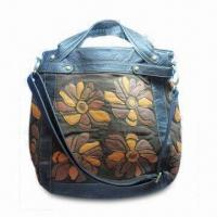 Buy cheap Stylish Handbag with Inside Compartments for Extra Storage, Made of PVC and PU Materials from wholesalers