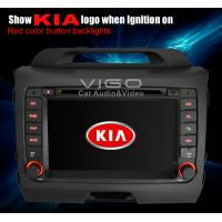 Buy cheap Rear USB Built in DVB - T Kia Sportage Stereo Sat Nav with 2GB SD Card VKS7227 from wholesalers